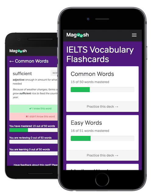 Free IELTS Vocabulary Flashcards - Magoosh IELTS
